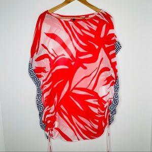 Victoria Secret Palm Print Swimsuit Coverup XS/S